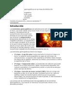 Efectos de Tormentas Geomagnéticas en Las Lineas de Distribución
