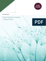 FTSE Value Factor Paper