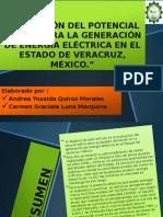 Evaluación Del Potencial Eólico Para La Generación