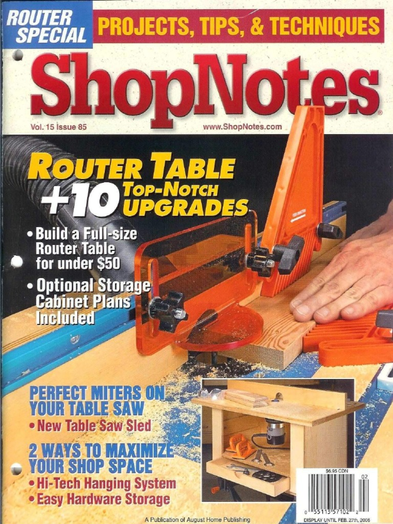 5hopnotes 85 router tablepdf industrial processes equipment greentooth Image collections