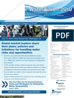 Corporate Water Vision 2010