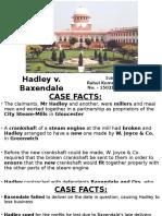 1502142 - Rahul Kumar Shribathry - Hadley v. Baxendale