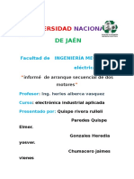 Informe Del Proyecto ELECTRONICA