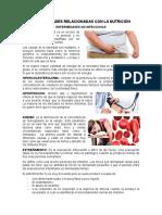 Enfermedades Relacionadas Con La Nutrición