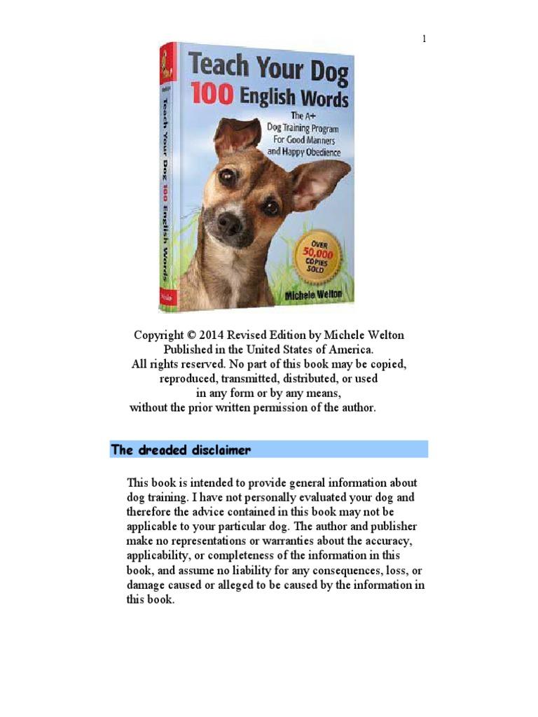 TeachYourDog.pdf   Dogs   Body Language