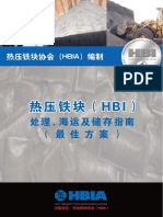 DRI a Hot Briquetted Iron HBI in Chinese