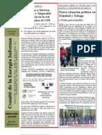 Comité de Energía Informa No. 71 Junio 14 Fibra de CFE a Televisa