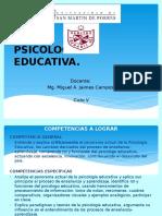 Clase 1, 2 y 3 de Psicología Educativa