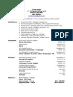 Jobswire.com Resume of lobsterchick2