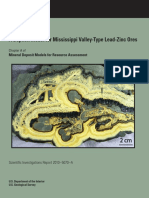 Leach, D.L. & Taylor, R.D., 2009. Mississippi Valley-type Lead-zinc Deposit Model