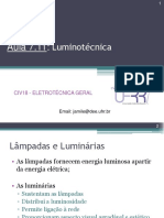 Aula 7.11 - Luminotécnica