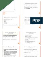 Diagrama de Pareto-exercício UFPR