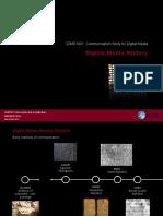 CDME1001 Digi Media History