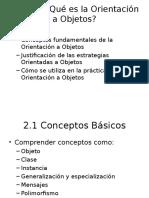 Tema 2-Que Es La Orientación a Objetos
