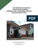 Mecánica de Suelos_Sitio Huanuco