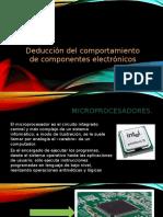 Deducción Del Comportamiento de Componentes Electrónicos (1)