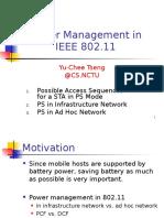 Ieee802 11 Power Saving Mode
