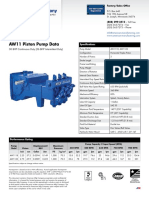 American Mfg Aw1122 Parts Book