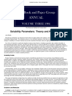 Solubility Parameters_ Theory and Application