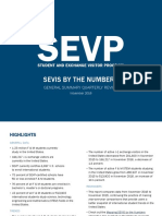 """SEVP: Student and Exchange Visitor Information """"By the Numbers"""", Dec 2016"""