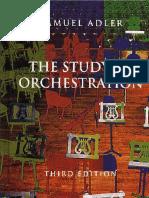 Samuel Adler - The Study of Orchestration (2002)