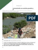 Río Huallaga Está Contaminado Con Metales Pesados y Sólidos Suspendidos _ Diario Correo