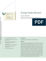 Ecologic Studies Revisited