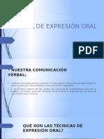 Grupo 5 .- Tecnicas de Expresion Oral