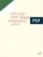 Correspondance 1949-1975 Heidegger
