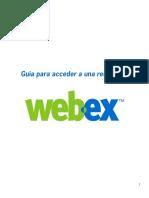 Manual Acceso WebEX