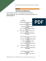 Ficha de Trabalho Poesia Trovadoresca 1 Cantiga de Amor