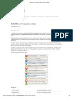 Tata Motors Company Analysis _ SIMCON Blog