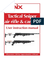Evanix Tactical Sniper Owners Manual