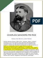 Barrena-Nubiola - Charles Sanders Peirce