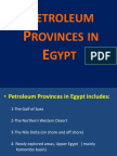 Petroleum Provinces in Egypt - Dr Emad Final
