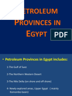 Petroleum Provinces in Egypt - Dr Emad Final