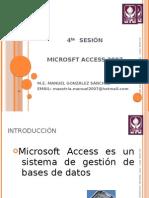 Herramientas de Software - Sesion 4 - Microsoft Access 2007
