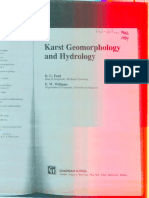 Ford and Williams 1989 Karst Geomorphology