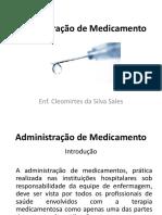 ADMINISTRACAO DE MEDICAMENTOS - Enf. Cleomirtes.pdf