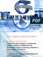 Six Sigma Sajjad Ali