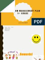 edu 299 classroom management plan