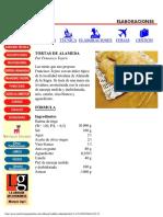Receptes de Cuina - Recetas Panaderia, Bolleria Y Pasteleria - Montagud