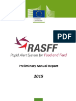 Rasff Annual Report 2015 Preliminary