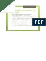 Importacion en Colombia