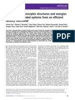 Accurate first-principles structures and energies of diversely bonded systems from an efficient density functional