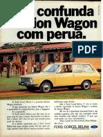 Ford Corcel Belina 1970