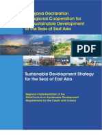 Putrajaya Declaration of Regional Cooperation for the Sustainable Development of the Seas of East Asia