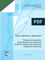 Tierra Territorio y Educacion