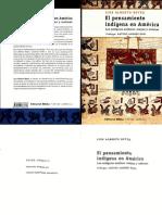 Reyes, Luis Alberto - El Pensamiento Indígena en América. Los Antiguos Andinos, Mayas y Náhuas (Optim)