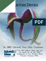 5e Creatures Srd Text